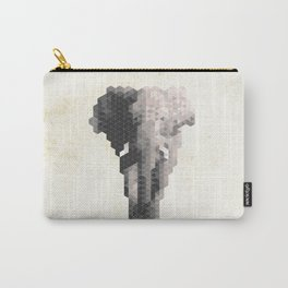 Elephant - Species in danger of pixelation Carry-All Pouch