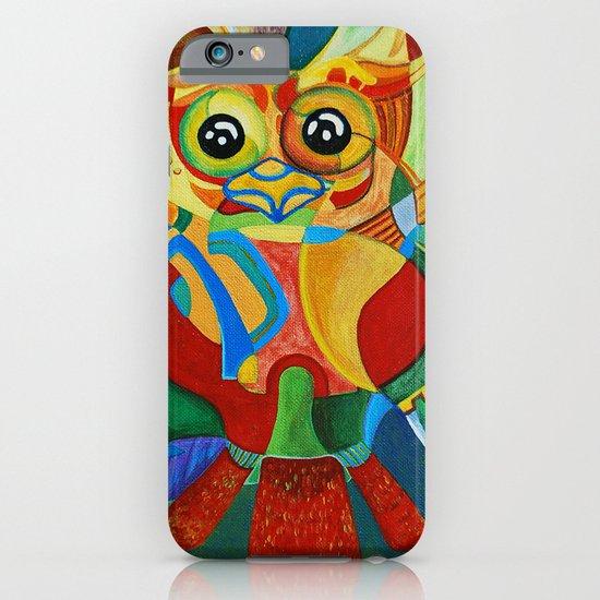 Rainbow Owl iPhone & iPod Case