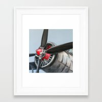 airplane Framed Art Prints featuring Airplane by Renato Verzaro