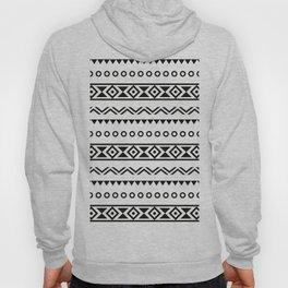 Black White Aztec Hoody