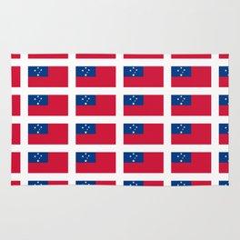 Flag of Samoa-Samoa,samoan,Tala,Savai'i,Upolu,Apia Rug