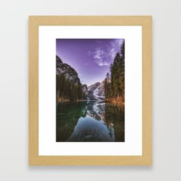 Destination: Solitude Framed Art Print