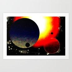 SPACE 102914 - 148 Art Print