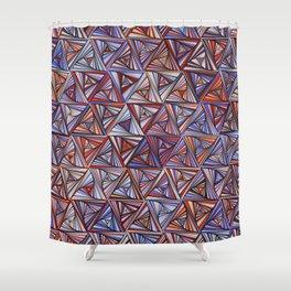 geometry: tri013 Shower Curtain