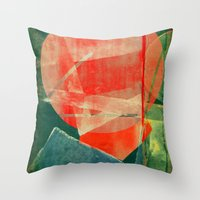 mars Throw Pillows featuring Mars by Fernando Vieira