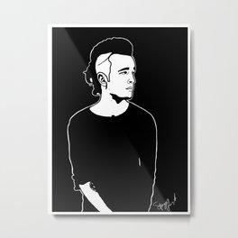 Matty. Metal Print
