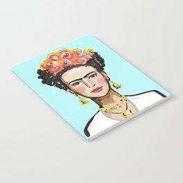 Frida Aqua Notebook
