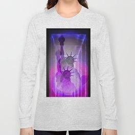 New York Statue of Liberty Long Sleeve T-shirt