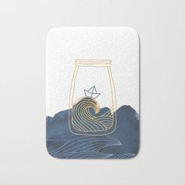 Bottled Sea Bath Mat
