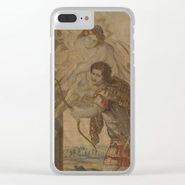 The Death of Achilles Clear iPhone Case