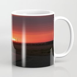Sunset Highway Coffee Mug