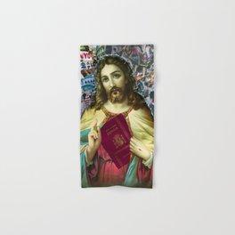 Jesus loves Refugees Hand & Bath Towel