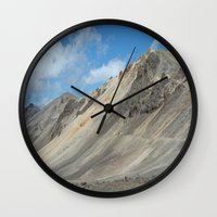 engineer Wall Clocks featuring Engineer Pass by JSwartzArt