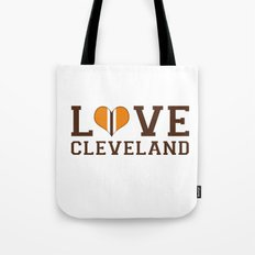 LUV Cleveland Tote Bag