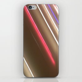 Light Lines. iPhone Skin