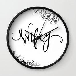 Wifey Wall Clock