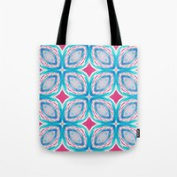 clover Tote Bags featuring Clover by Truly Juel
