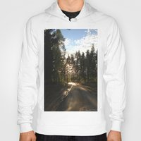 forrest Hoodies featuring My Forrest by Plutonian Oatmeal