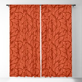 V.02 - Striated Leaves - Early Autumn Blackout Curtain