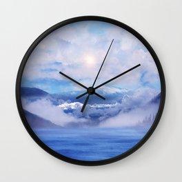 Pastel vibes 47 Wall Clock