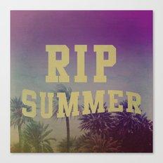 RIP Summer Canvas Print