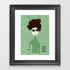 Alien Bob Dylan Framed Art Print