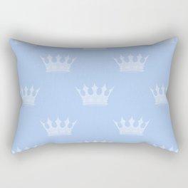 Louis Blue Crowns- Prince of Cambridge Rectangular Pillow