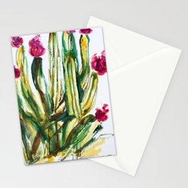 Crazy Cactus Stationery Cards