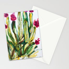 Crazy Cactus Stationery Cards