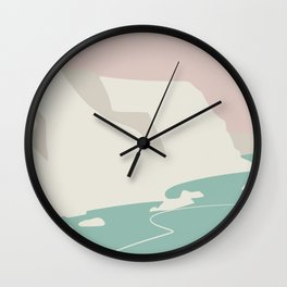 Another day another beach Wall Clock