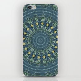 Silver Gull Mandala iPhone Skin