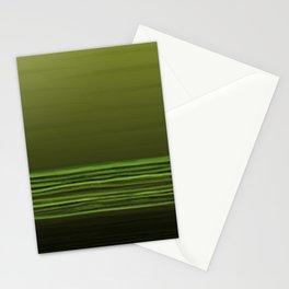 Horizon (olive green) Stationery Cards