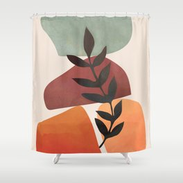 Geometry Abstract 4 Shower Curtain
