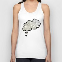 math Tank Tops featuring Math notes by waspdynamics
