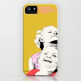 Smiles & kisses iPhone Case