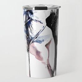 Shibari - Japanese BDSM Art Painting #4 Travel Mug