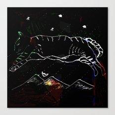 leap dream Canvas Print