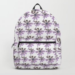 Daisies In The Summer Breeze - Purple Hue Backpack