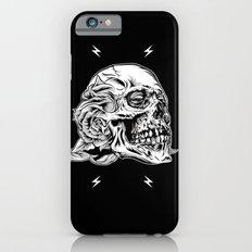 Skullflower Black and White  iPhone 6s Slim Case