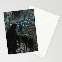 Working-Class City by Hans Baluschek, 1920 Stationery Cards