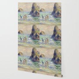 Renoir Guernsey Art Painting Wallpaper
