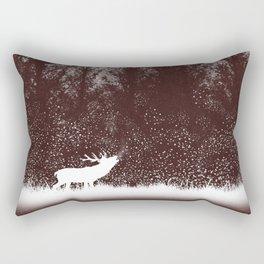 The rut - deer mating season Rectangular Pillow