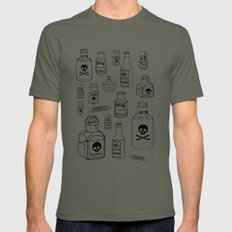 Poison SMALL Mens Fitted Tee Lieutenant