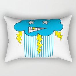 Cloudy in the 'hood Rectangular Pillow