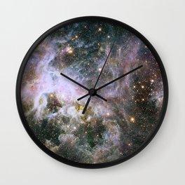 Infrared view of the Tarantula Nebula Wall Clock
