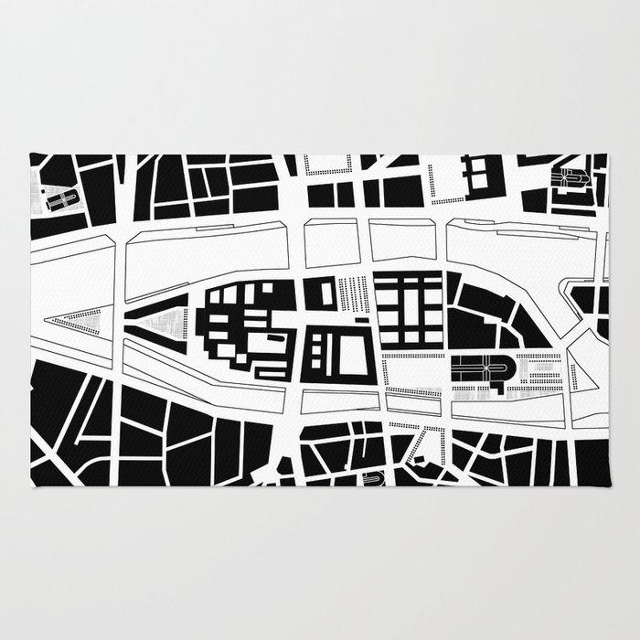 Île de la Cité. Paris Rug