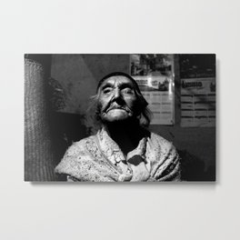 105 year old widow, Guatemala, 2015 Metal Print