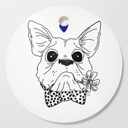 Dapper Frenchie Cutting Board