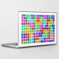 tetris Laptop & iPad Skins featuring Tetris by MarioGuti