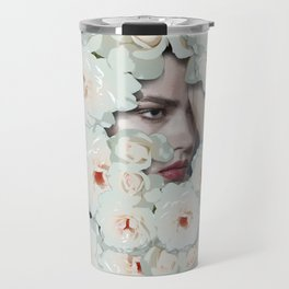 Flower woman Travel Mug